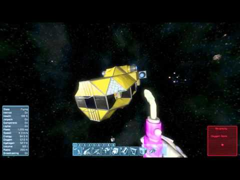 Space Engineers Survival Asteroids Start