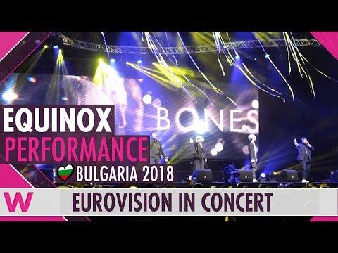 "Equinox feat. Kristian Kostov ""Bones"" (Bulgaria 2018) LIVE @ Eurovision in Concert"
