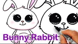 How to Draw a Cute Bunny Rabbit Easy