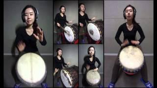 one-man african percussion ensemble - sofa