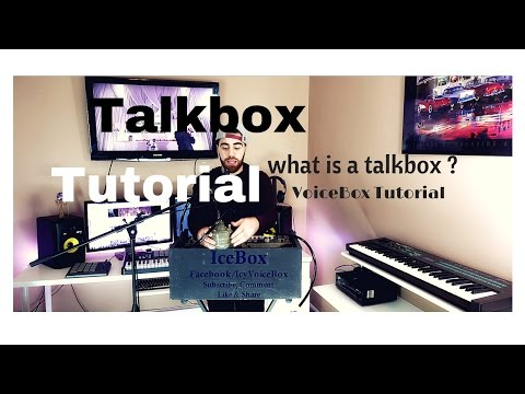 Talkbox / Voicebox - Tutorial - how to (explained) part 1 (Roger Troutman)