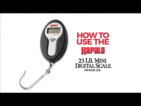 Rapala® RMDS 25 Scale Instructions