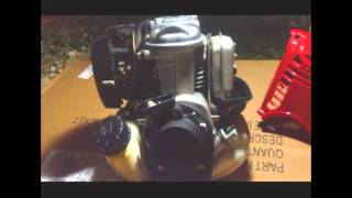 Unseizing a locked up Honda GX35 small 4 cycle engine by HR Unlimited