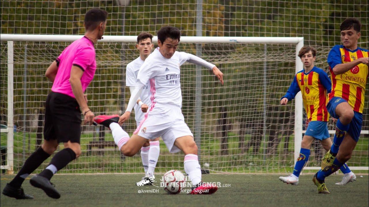 Takuhiro Nakai 'Pipi' 中井卓大 (ピピ) - Real Madrid Juvenil A (U19) vs Los Yébenes (23/01/2021) HD