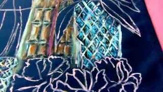 РОЗОВЫЕ ЦВЕТЫ В ВАЗАХ -4 (рисуем вазы)(нарисовано на основе картины Adriana Chacon B видео показано как нарисовать цветы и вазы. для этого понадобятся--..., 2015-09-17T13:58:12.000Z)