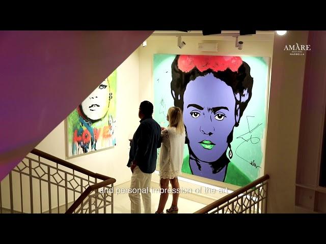 Amàre Marbella and the living artworks of Alejandro Hermann