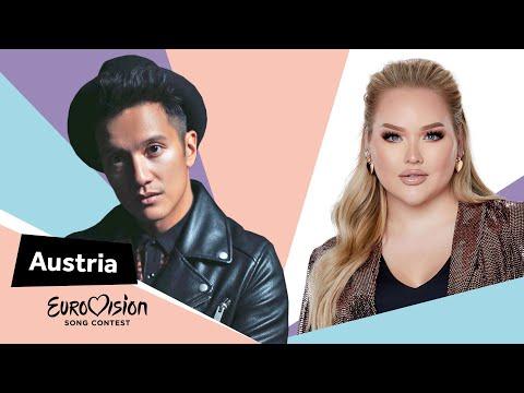 Eurovisioncalls Vincent Bueno - Austria 🇦🇹 with NikkieTutorials