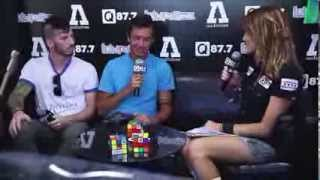 Lauren Interviews Twenty | One | Pilots Backstage At Lolla 2013