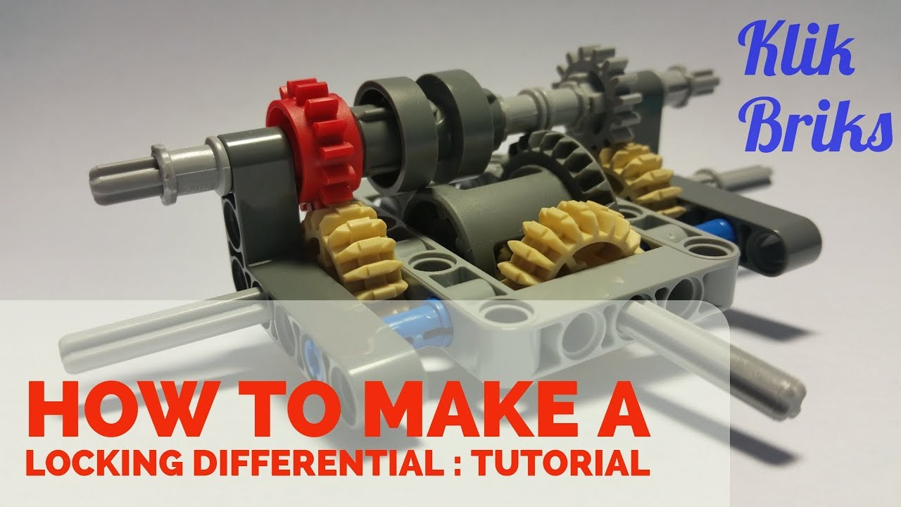 Klikbriks How To Build A Lego Technic Locking Differential With Only