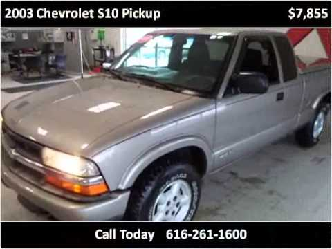 2003 chevrolet s10 pickup used cars grand rapids mi youtube. Black Bedroom Furniture Sets. Home Design Ideas
