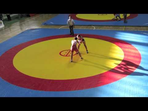2012 Cadet Pan-American Championships: 60 kg Magalie Rondeau (CAN) vs El Salvador