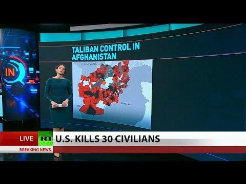U.S. Bombs Civilians to Bring Afghan Peace