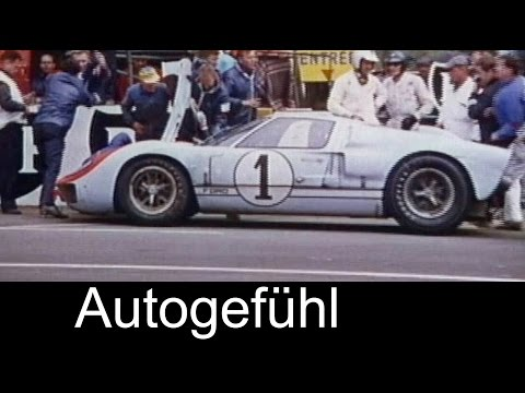 24 hours of Le Mans 1966 heritage footage with Ford GT rediscovered!
