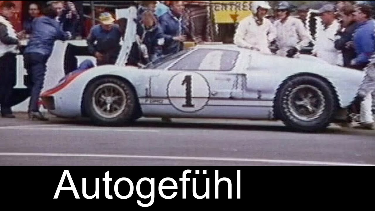 24 hours of le mans 1966 heritage footage with ford gt rediscovered youtube. Black Bedroom Furniture Sets. Home Design Ideas