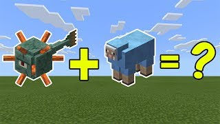 I Combined a Guardian and a Blue Sheep in Minecraft - Here