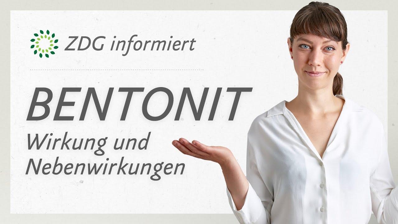 Bentonit: Wirkung und Nebenwirkungen