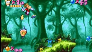 Rayman Gold (designer) Level 3/24 Junglemania walkthrough