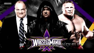 2014: WWE Wrestlemania 30 3rd Official Theme Song -