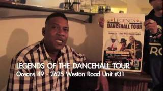 Junior Cat, Louie Rankin, Glen Ricks - @Oceans 49, Toronto - LEGENDS of DANCEHALL