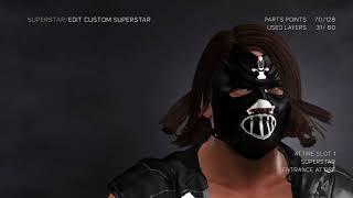 WWE 2K17 Comment faire de l'Aj Styles Nouvelle Puce Club de masque (PS4)