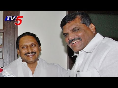 EX CM  Kiran Reddy And Botsa Satires on Re Entry :  TV5 News