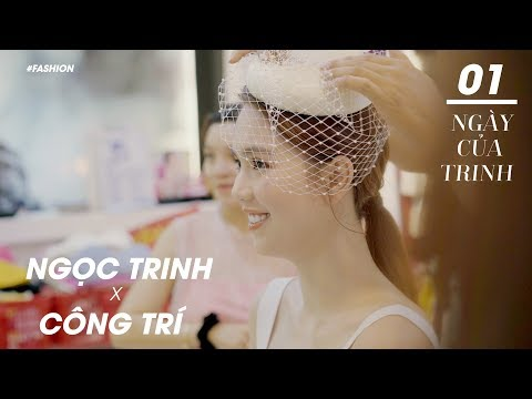 Ngọc Trinh Như Công Nương Với Trang Phục Công Trí Tại Vietnam International Fashion Week(VIFW)