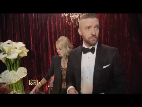 "Justin Timberlake - ""I'm married to Jessica Biel"" - Live with Kelly Oscars 2017"