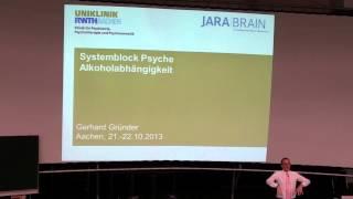 Vorlesung Alkoholabhängigkeit Teil I