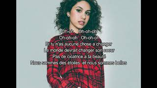 Alessia Cara-Scars to your beautiful  (Traduction Française) Video