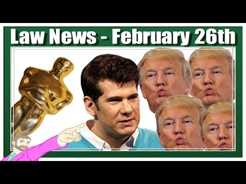 It's a Legal Round Up   Trump Kisses, Crowder DMCA, Twitter Law School - REPLAY