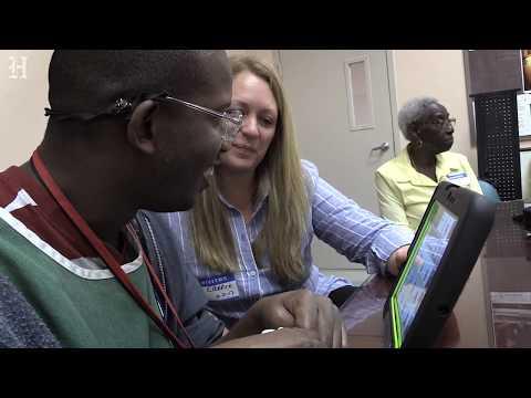 Man Receives Speech-assistance Device To Help Him Communicate