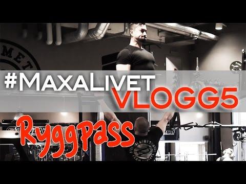VLOGG 5 - Roman & Ali kör Ryggpass på Gymmet Stockholm