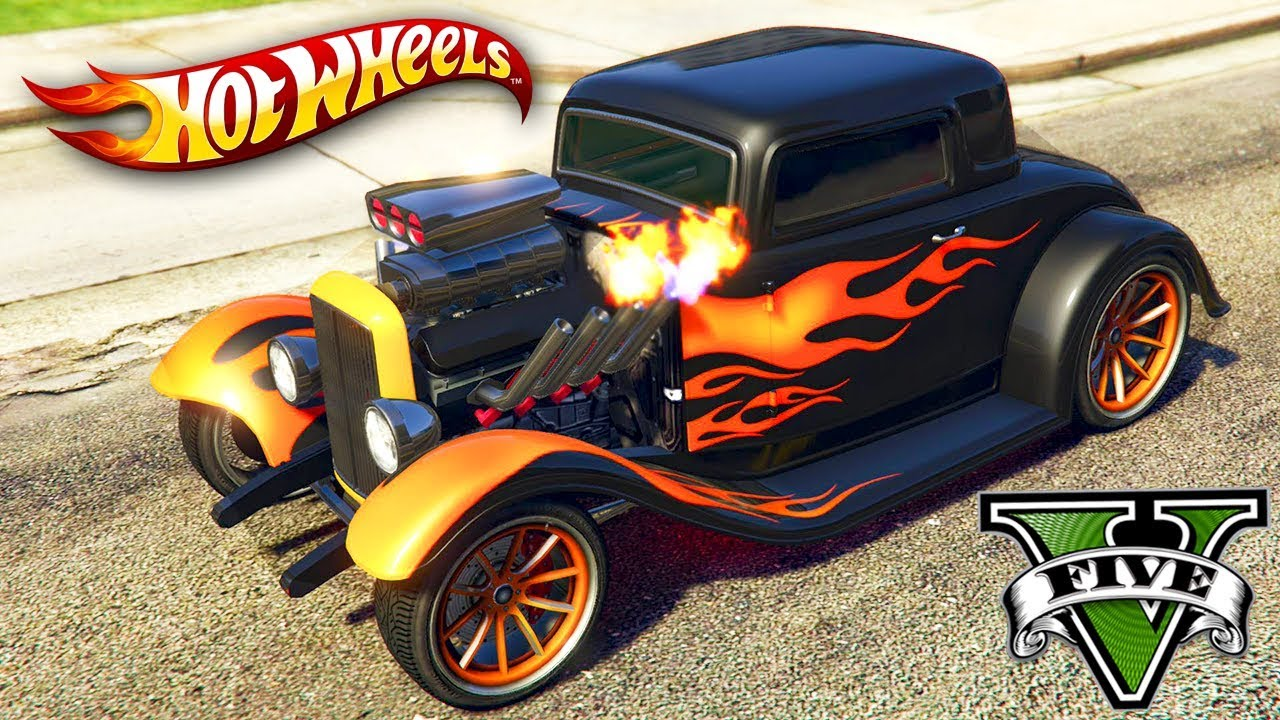 Gta V Online Novo Carro Da Hot Wheels Tunado - Youtube-1836