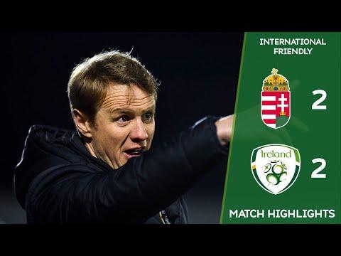 HIGHLIGHTS   Hungary U18 2-2 Ireland U18