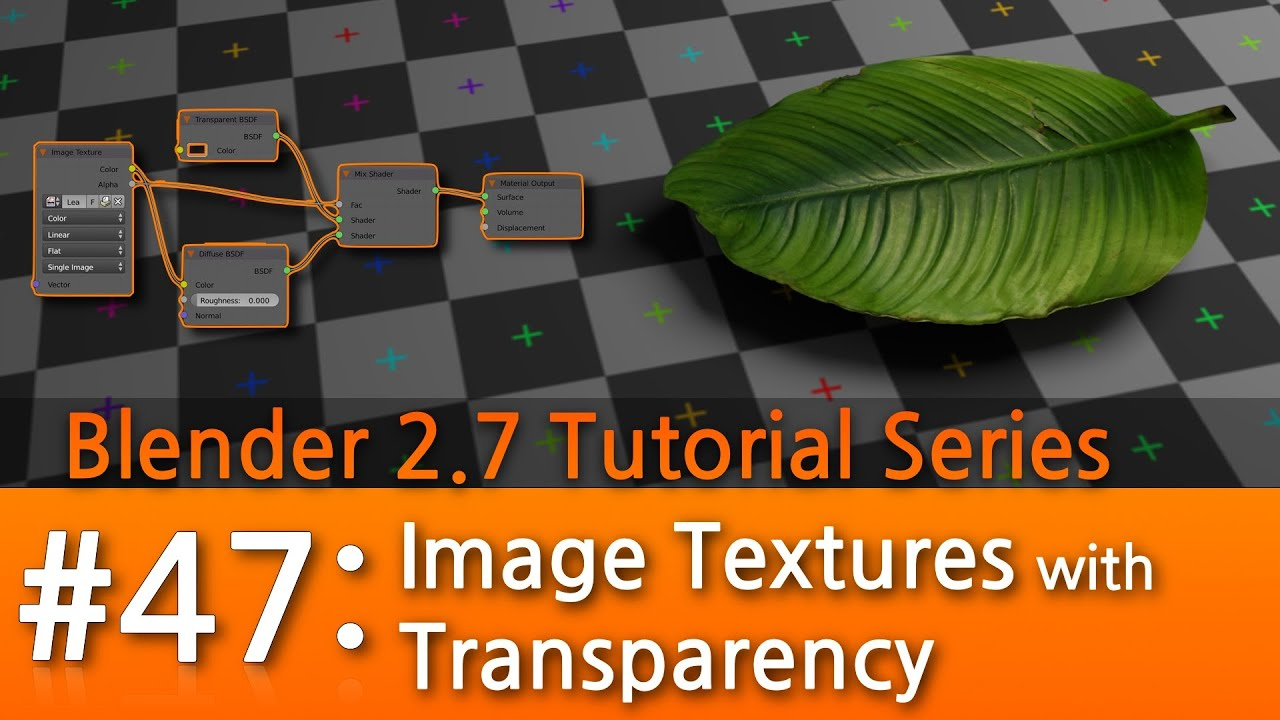 Blender 2 7 Tutorial 47 Image Textures With Transparency B3d