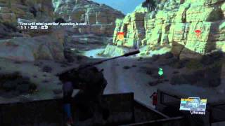MGSV: Phantom Pain - Back Up, Back Down, Mission 9 & 34 - S-Rank - Extreme - Easy and Quickest way