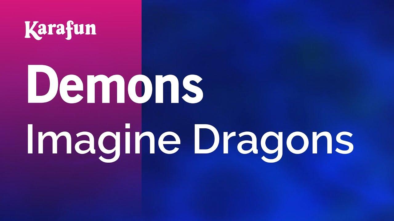 Imagine dragons demons минус гитара.