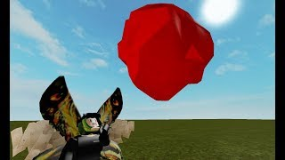 A meteorite falls to someone in roblox with Guadalupe Rose Music :v