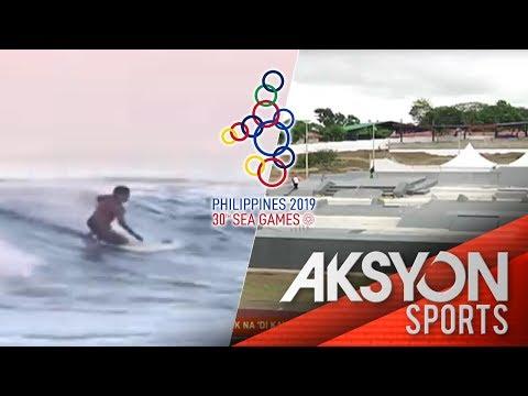 Surfing at skateboarding  events, unang beses sa 30th SEA Games