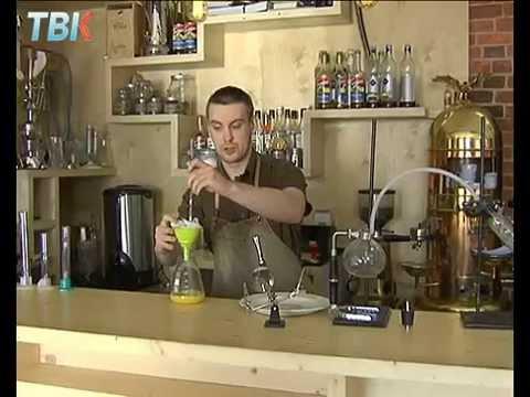 Липецкие бармены научились делать макароны из алкоголя