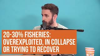 QUICK TAKE! Finless Foods biotech solution to increasing scarcity of fish - Jason tries it!