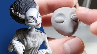 Sculpting the BRIDE OF FRANKENSTEIN from Polymer Clay - Monster No. 4 / Sculpting Your Requests E06