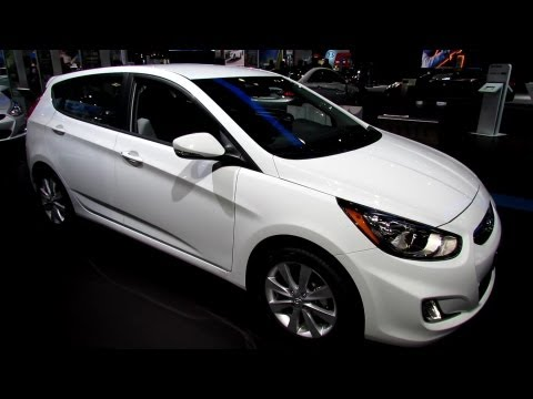 2013 Hyundai Accent Hatchback Exterior and Interior Walkaround 2013 New York Auto Show