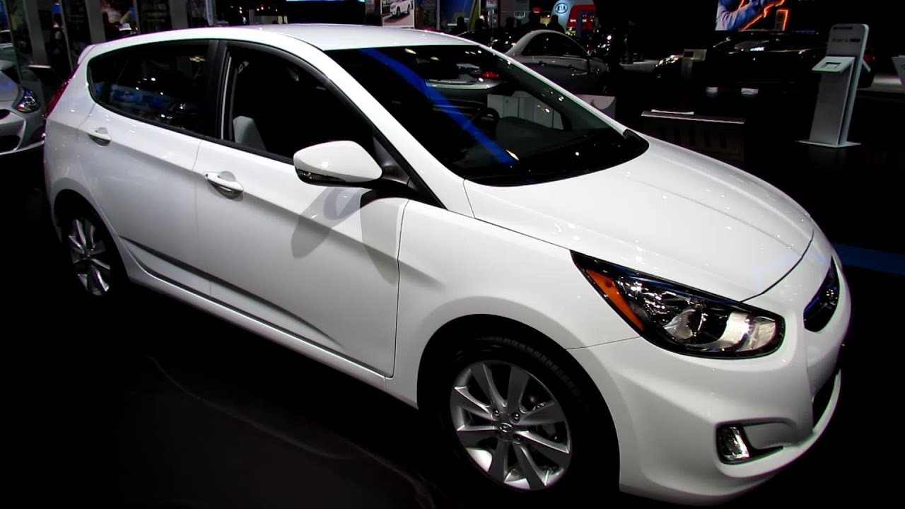2013 Hyundai Accent Hatchback   Exterior And Interior Walkaround   2013 New  York Auto Show   YouTube