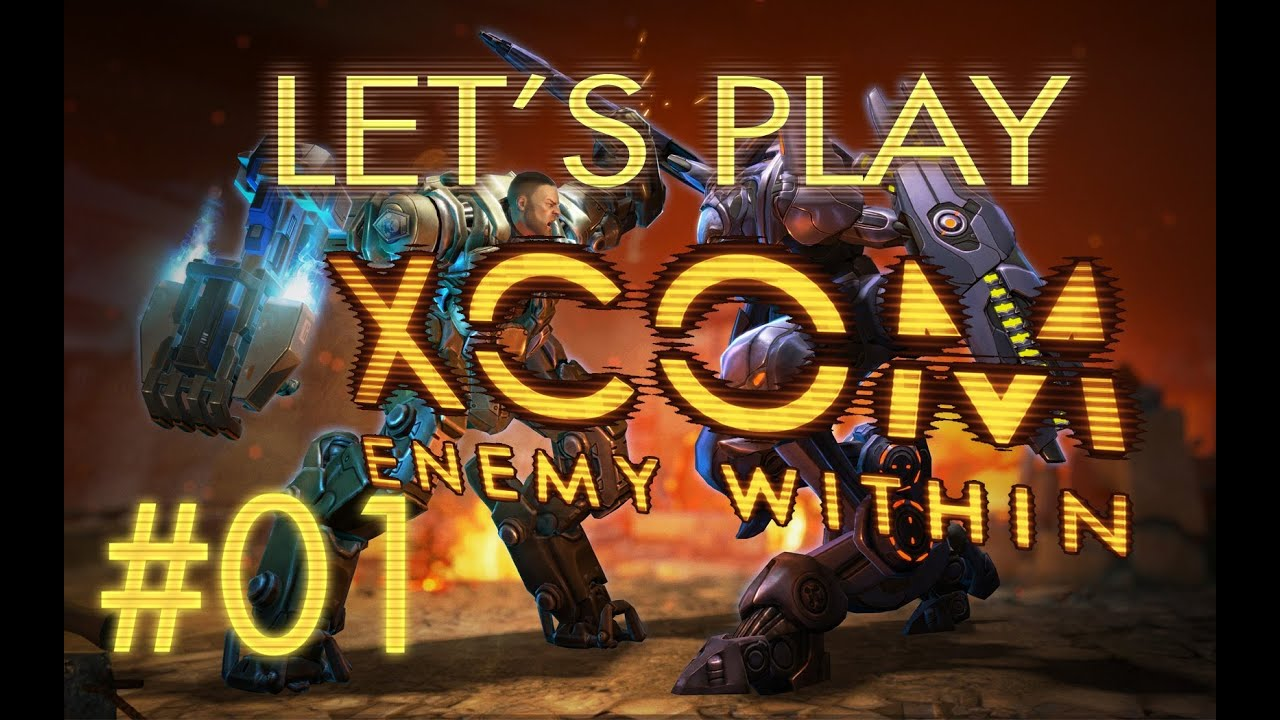 Let's Play XCOM Enemy Within (part 1 - So It Begins Again)