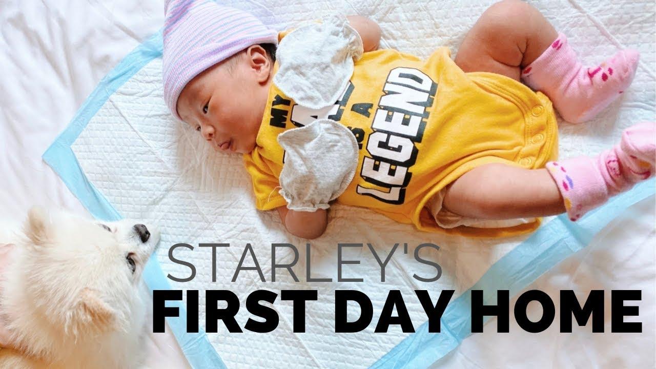 Bringing Baby Starley Home - YouTube