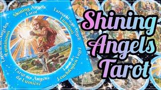 🎁開封🎁シャイニングエンジェルタロット👼 Shining Angels Tarot Unboxing & Flip-Through✨✨