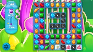Candy Crush Soda Saga Level 523 - No boosters