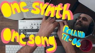 One Synth - One Song - Roland TR-06