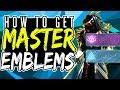 Destiny 2 How To Get Master Cartographer Gardener Emblems MASTER EMBLEMS mp3